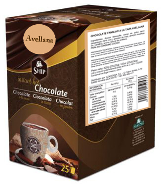 Ship chocolate 10 - AVELLANA