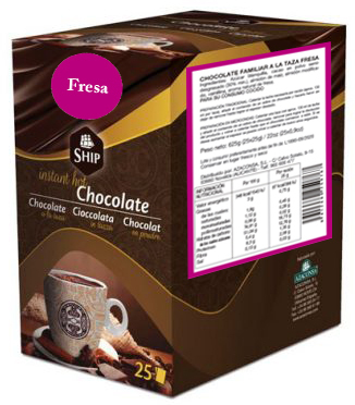 Ship chocolate 10 - Fresa