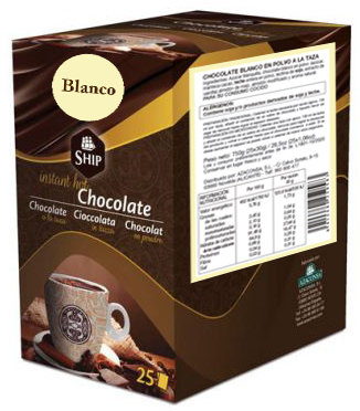 Ship chocolate 10 - Blanco