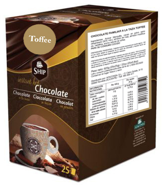Ship chocolate 10 - Toffee